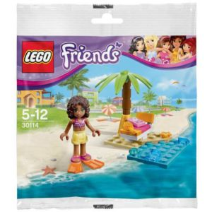 LEGO Friends Andrea na pláži