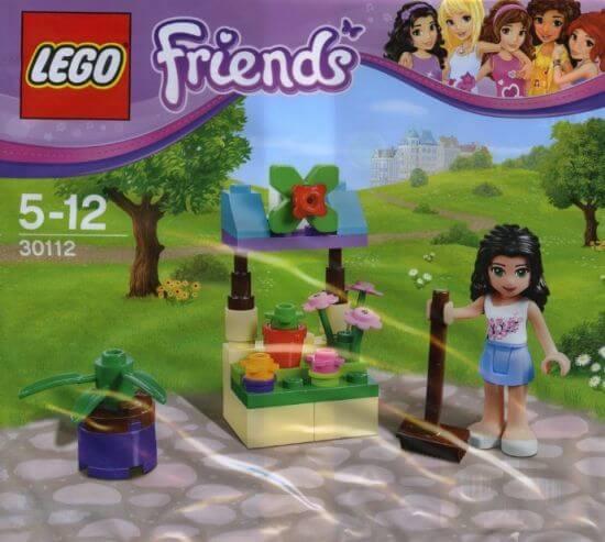 Stavebnice LEGO Friends Emma v květinovém stánku