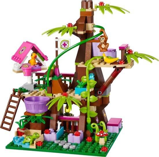 LEGO Friends Strom života v džungli se zvířátky