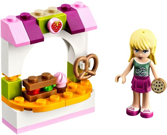 LEGO Friends Pekařský stánek Stephanie sestaveno
