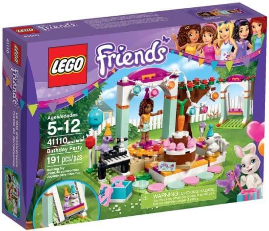 LEGO Friends narozeninová party králíčka Daisy
