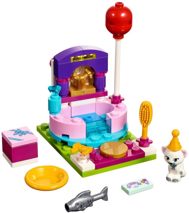 LEGO Friends 41114 Styling na párty sestaveno