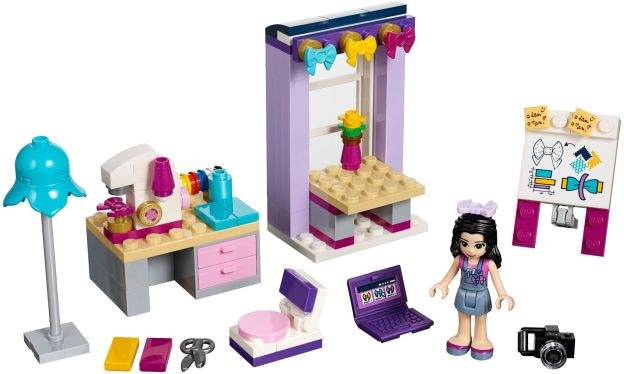 LEGO Friends 41115 Ema a její tvůrčí dílna sestaveno