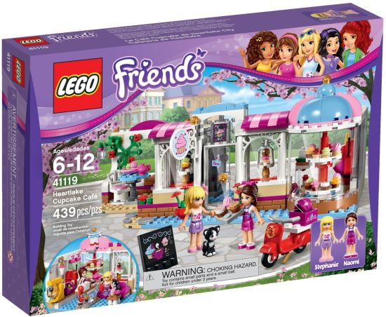 Stavebnice LEGO Friends Cukrárna vHeartlake