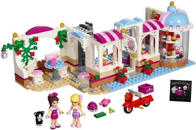 LEGO Friends 41119 Cukrárna vHeartlake sestaveno