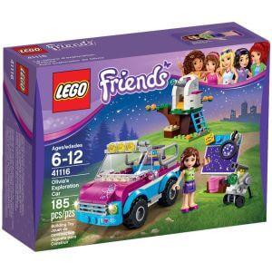 LEGO Olivie a její průzkumné auto