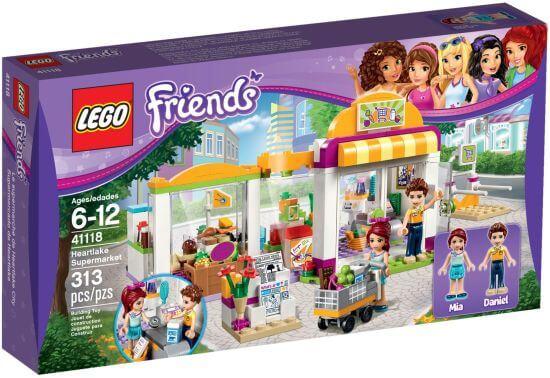 Stavebnice LEGO Friends Supermarket vHeartlake