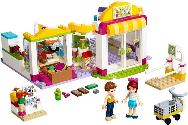 LEGO Friends 41118 Supermarket v Heartlake sestaveno