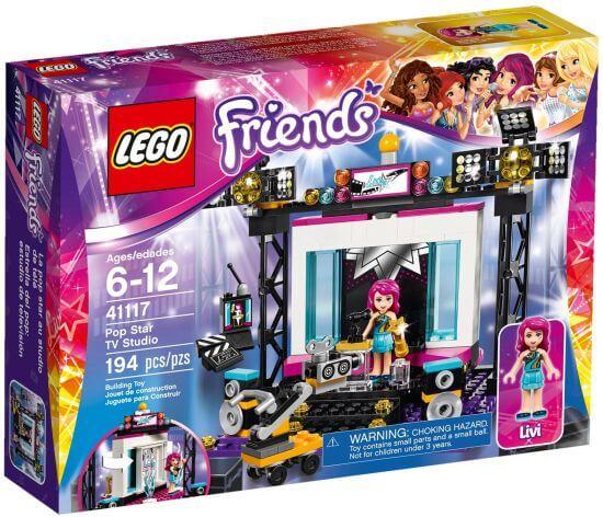 Stavebnice LEGO Friends TV Studio s popovou hvězdou