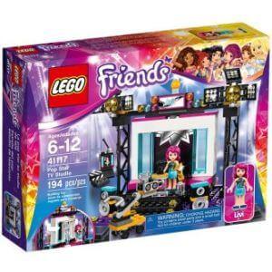 LEGO TV Studio s popovou hvězdou