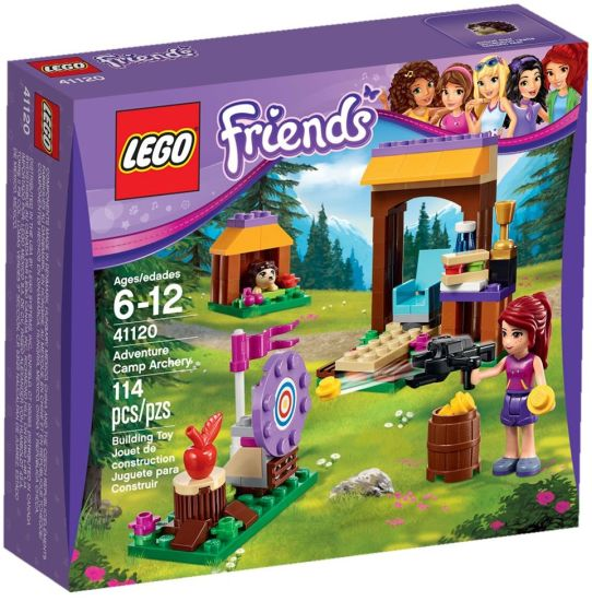 Stavebnice LEGO Friends Dobrodružný tábor – lukostřelba