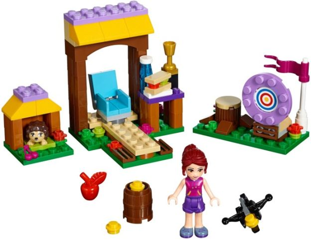 LEGO Friends 41120 Dobrodružný tábor – lukostřelba sestaveno