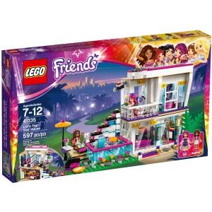 LEGO Livi a její dům popové hvězdy