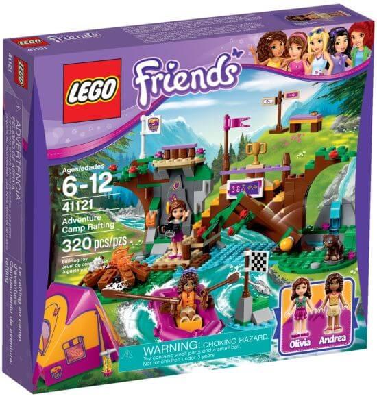 Stavebnice LEGO Friends Dobrodružný tábor – jízda na divoké vodě