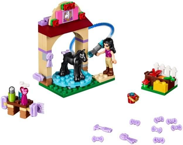 LEGO Friends 41123 Mytí hříbátka sestaveno
