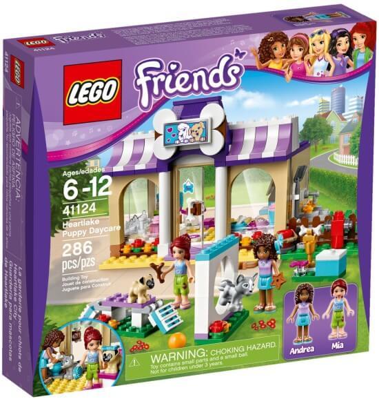 Stavebnice LEGO Friends Péče o štěňátka vHeartlake