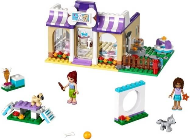 LEGO Friends 41124 Péče o štěňátka vHeartlake sestaveno