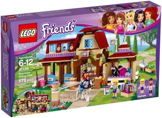 Stavebnice LEGO Friends Jezdecký klub vHeartlake