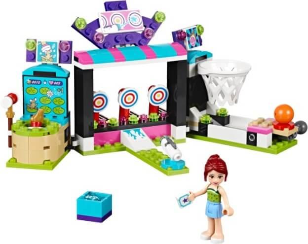 LEGO Friends 41127 Střelnice v zábavním parku sestaveno