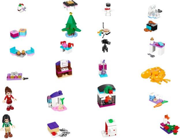 LEGO Friends 41131 Adventní kalendář 2016 dílky