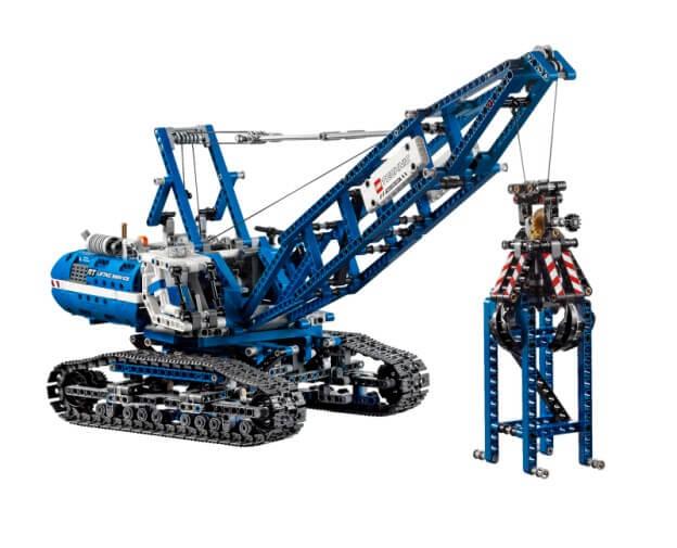 LEGO Technic Pásový jeřáb
