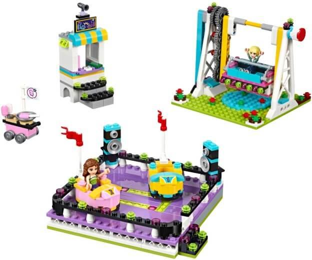 LEGO Friends 41133 Autíčka v zábavním parku sestaveno