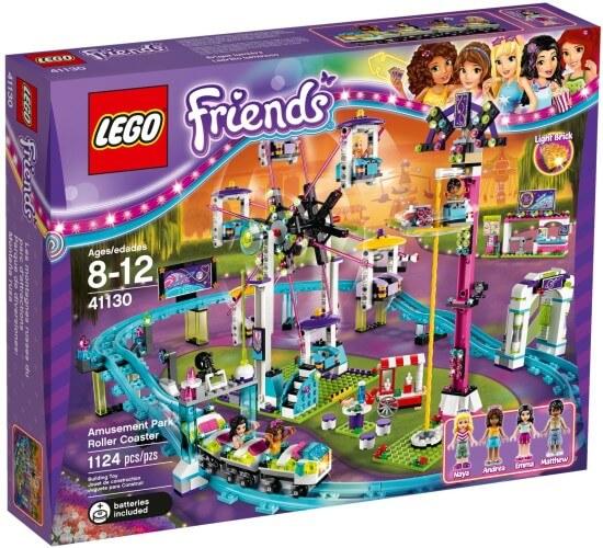 Stavebnice LEGO Horská dráha v zábavním parku