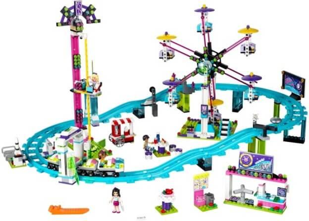 LEGO Friends 41130 Horská dráha v zábavním parku sestaveno