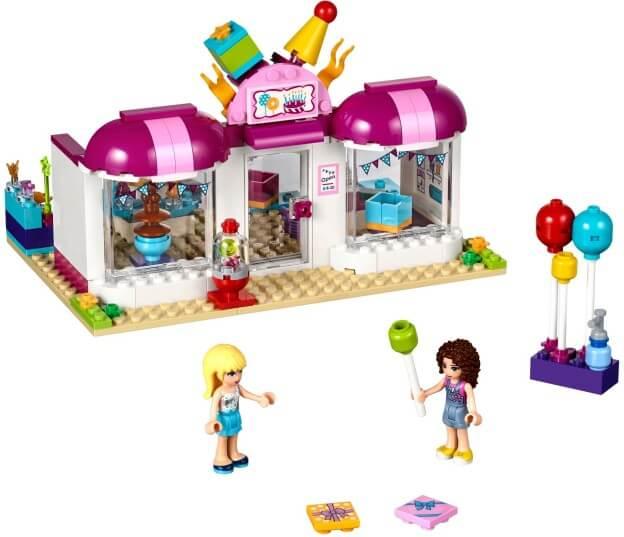 LEGO Friends 41132 Párty obchod v Heartlake sestaveno