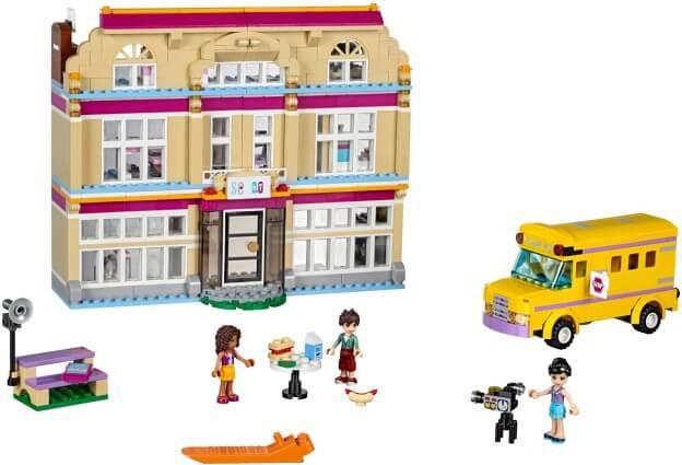 LEGO Friends 41134 Umělecká škola v Heartlake sestaveno