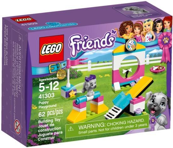 Stavebnice LEGO Hřiště pro štěňátka
