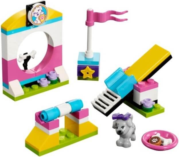 LEGO Friends 41303 Hřiště pro štěňátka sestaveno