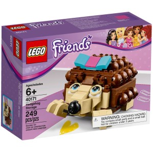 Box LEGO Friends ježek