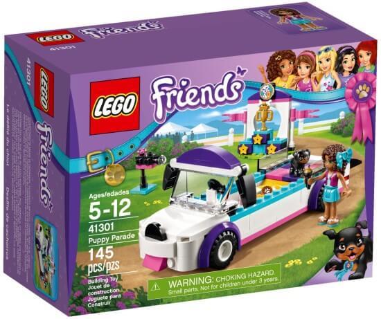 Stavebnice LEGO Přehlídka štěňátek