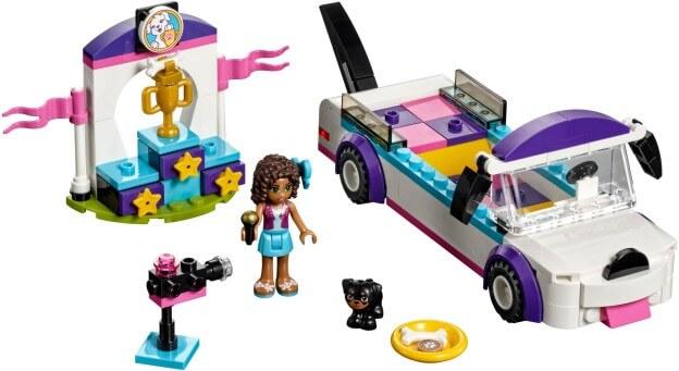 LEGO Friends 41301 Přehlídka štěňátek sestaveno