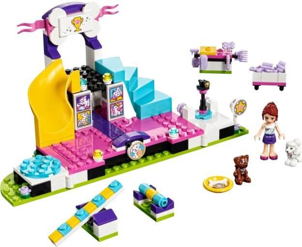 LEGO Friends 41300 Soutěž štěňátek sestaveno