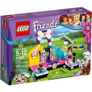 LEGO Soutěž štěňátek