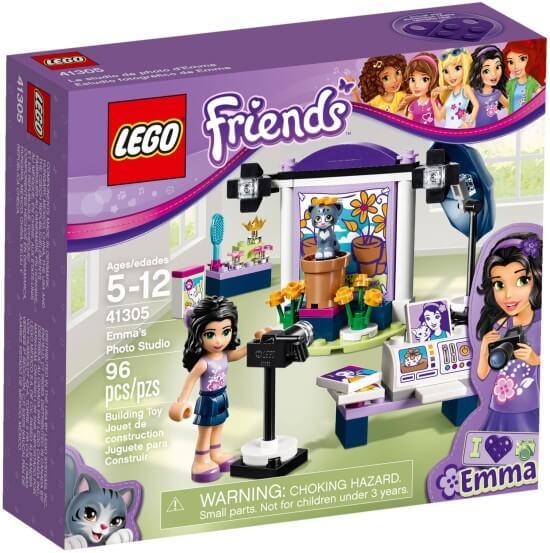 Stavebnice LEGO Emma a fotografický ateliér