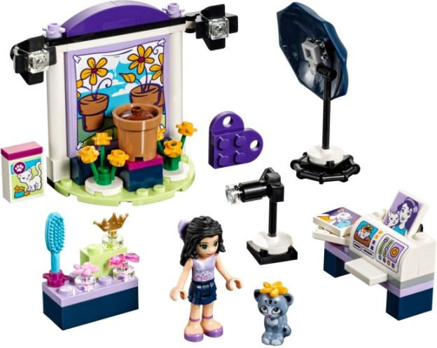 LEGO Friends 41305 Emma a fotografický ateliér sestaveno