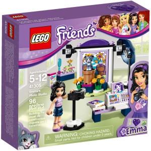 LEGO Friends pro holky Emma a fotografický ateliér