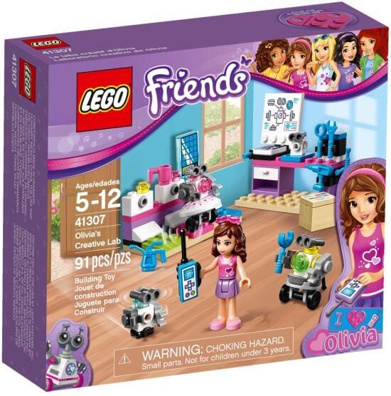 Stavebnice LEGO Olivia a tvůrčí laboratoř