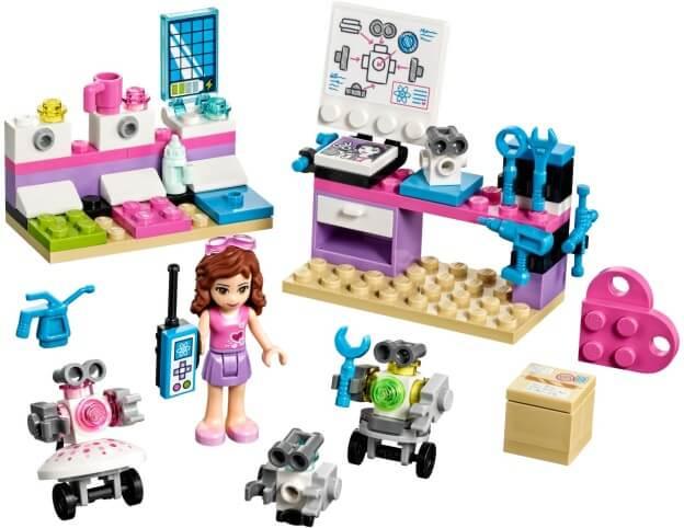 LEGO Friends 41307 Olivia a tvůrčí laboratoř sestaveno