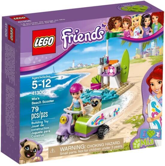 Stavebnice LEGO Mia a plážový skútr