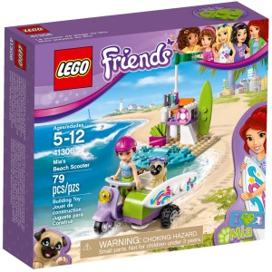 Stavebnice LEGO pro holky Mia a plážový skútr