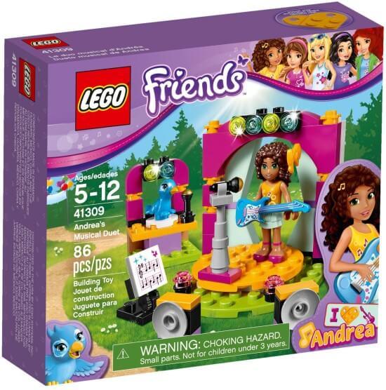 Stavebnice LEGO Andrea a její hudební duet