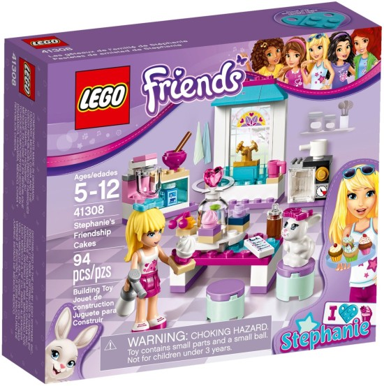 Stavebnice LEGO Stephanie a její cukrárna