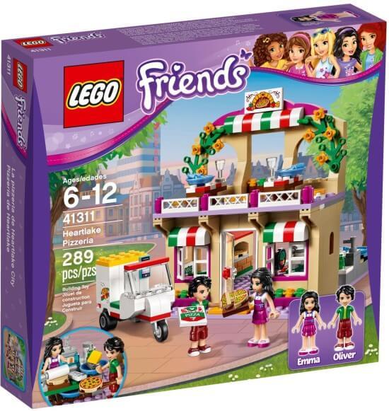 Stavebnice LEGO Pizzerie v městečku Heartlake