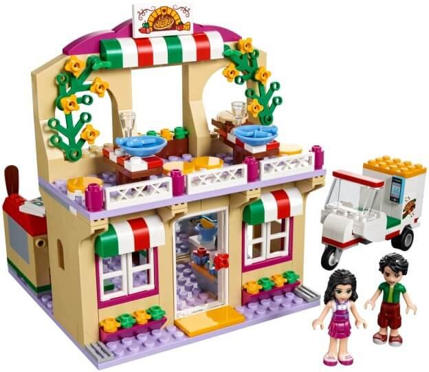 LEGO Friends 41311 Pizzerie v městečku Heartlake sestaveno