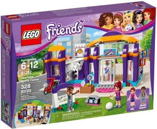 Stavebnice LEGO Sportovní centrum v městečku Heartlake