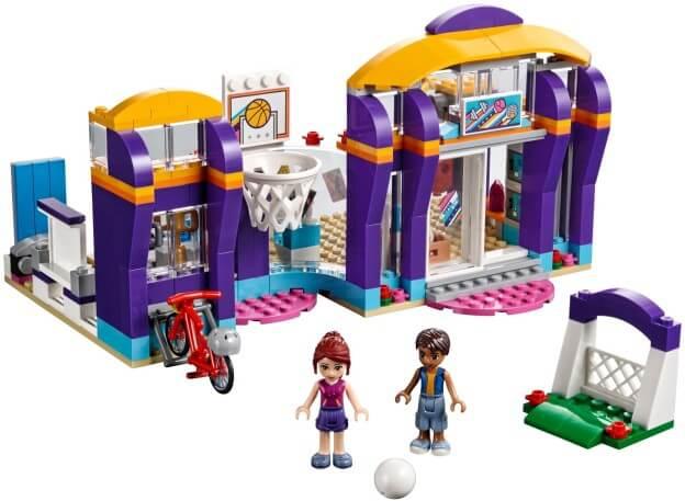 LEGO Friends 41312 Sportovní centrum v městečku Heartlake sestaveno